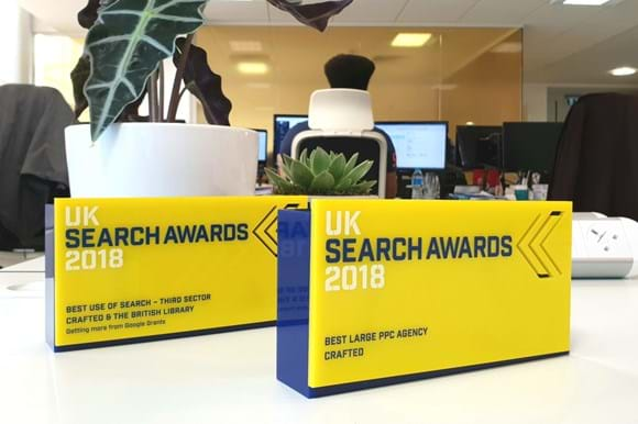 UK Search Awards 2018